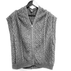 Vince. Cashmere blend knit zippered vest
